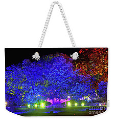 Weekender Tote Bag featuring the photograph Garden Of Light By Kaye Menner by Kaye Menner