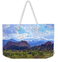Garden Of The Gods Weekender Tote Bag by Catherine Sherman