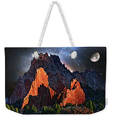 Garden Of The Gods Fantasy Art Weekender Tote Bag