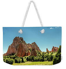 Weekender Tote Bag featuring the photograph Garden Of The Gods II by Bill Gallagher