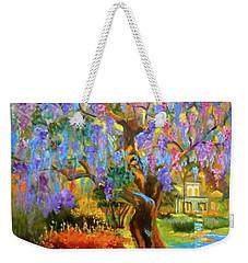 Garden Pathway Weekender Tote Bag by Jenny Lee