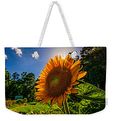 Weekender Tote Bag featuring the photograph Garden Queen  by John Harding