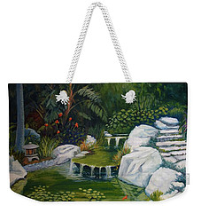 Garden Retreat Weekender Tote Bag
