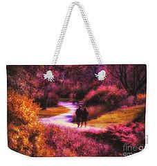 Garden Romance Weekender Tote Bag