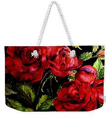 Garden Roses Weekender Tote Bag