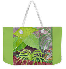 Garden Scene 9-21-10 Weekender Tote Bag by Fred Jinkins