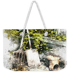 Garden Seat Weekender Tote Bag by Shanina Conway