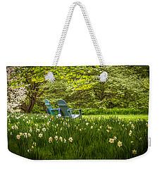 Garden Seats Weekender Tote Bag