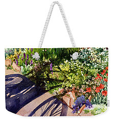 Garden Shadows Weekender Tote Bag