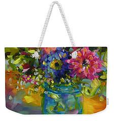 Garden Treasures Weekender Tote Bag by Chris Brandley