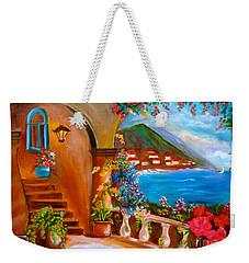 Garden Veranda 1 Jenny Lee Discount Weekender Tote Bag