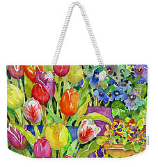 Garden Visitors Weekender Tote Bag