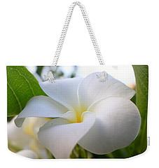 Garden White Weekender Tote Bag