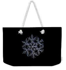Gardener's Dream, Dark On Black Version Weekender Tote Bag