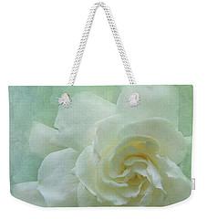 Gardenia Weekender Tote Bag by Catherine Alfidi