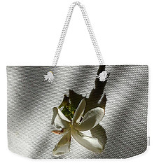 Gardenia On Tablecloths  Weekender Tote Bag