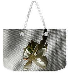 Gardenia On Tablecloths  Weekender Tote Bag