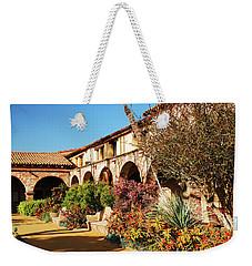 Gardens Of San Juan Capistrano Weekender Tote Bag by James Kirkikis