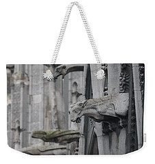 Gargoyles North Notre Dame Weekender Tote Bag