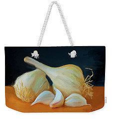Garlic 01 Weekender Tote Bag by Wally Hampton