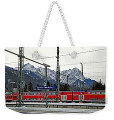 Garmisch-partenkirchen In Winter Weekender Tote Bag