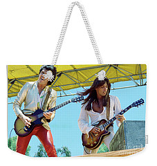 Gary Moore And Scott Gorham Of Thin Lizzy At Day On The Green 4th Of July 1979 - New Unreleased Weekender Tote Bag