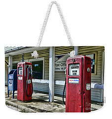 Weekender Tote Bag featuring the photograph Gas And Mail 1 by Paul Ward