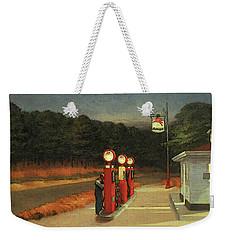 Gas  Weekender Tote Bag by Edward Hopper
