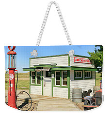 Gas Station Weekender Tote Bag by Steve McKinzie
