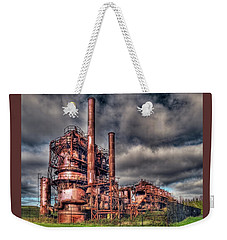 Gas Works Park - Seattle Weekender Tote Bag by Greg Sigrist