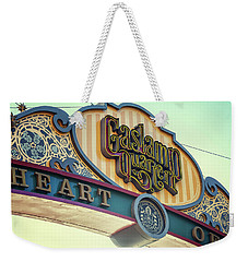 Gaslamp Close Up Weekender Tote Bag