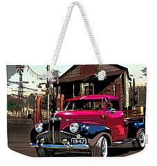 Gassed Up And Ready Weekender Tote Bag