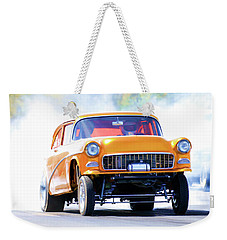 Gasser Burnout Weekender Tote Bag
