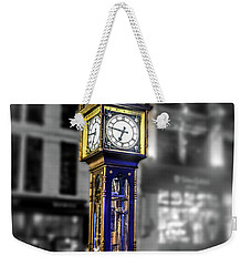 Gastown Steam Clock Weekender Tote Bag