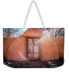 Gate At Galisteo Weekender Tote Bag