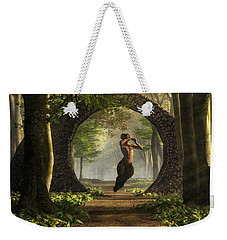 Gate To Pan's Garden Weekender Tote Bag