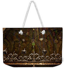Gate To The Holy Spirit Chapel Weekender Tote Bag