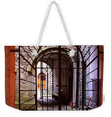 Gated Passage Weekender Tote Bag