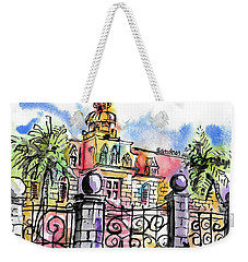 Gated Residence Weekender Tote Bag