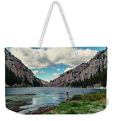 Gates Of The Mountains Weekender Tote Bag