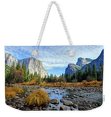 Gates Of The Valley Weekender Tote Bag