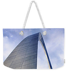 Weekender Tote Bag featuring the photograph Gateway Arch - Grace - Saint Louis by Nikolyn McDonald