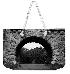 Weekender Tote Bag featuring the photograph Gateway by Jeff Severson