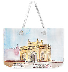 Gateway Of India Weekender Tote Bag