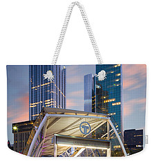 Gateway Station At Pittsburgh  Weekender Tote Bag by Emmanuel Panagiotakis