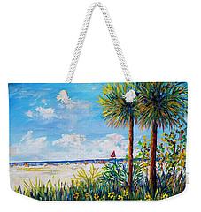 Gateway To Siesta Key Beach  Weekender Tote Bag