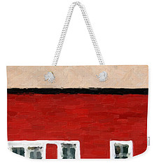 Weekender Tote Bag featuring the digital art Gateways And Portals No. 2 by Serge Averbukh