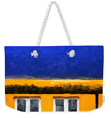 Weekender Tote Bag featuring the digital art Gateways And Portals No. 3 by Serge Averbukh