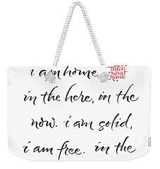 Gatha Five Weekender Tote Bag