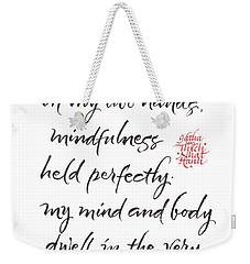 Gatha Six Weekender Tote Bag